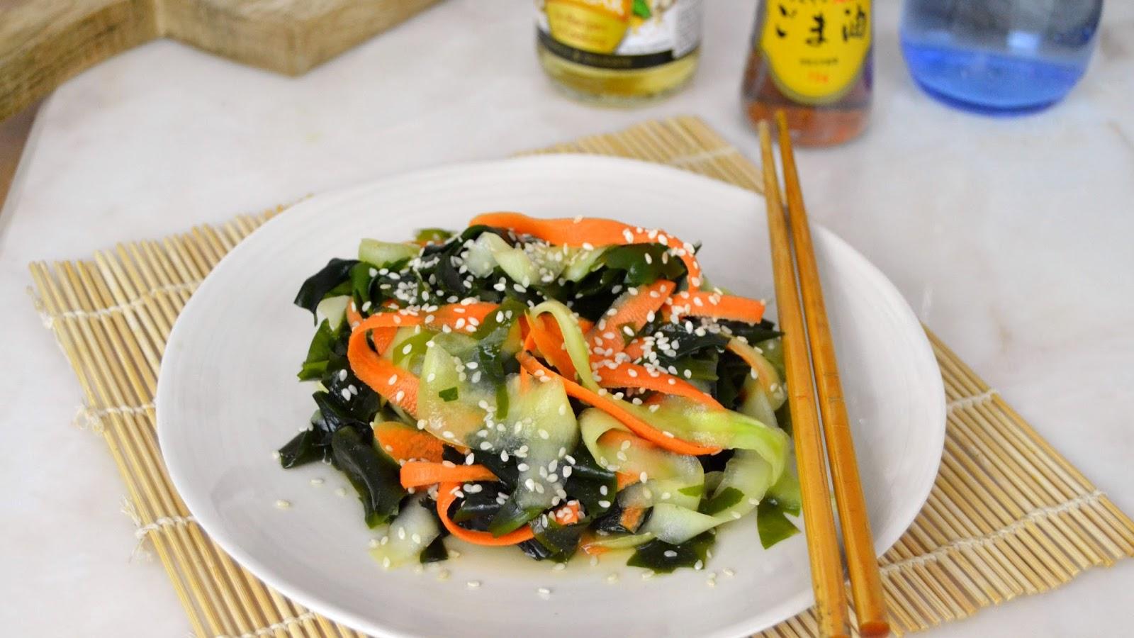 Recetas Cocina Japonesa   Ensalada De Pepino Y Algas Wakame Receta Japonesa Cuuking
