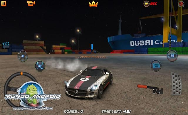 Jugabilidad de Drift Wars