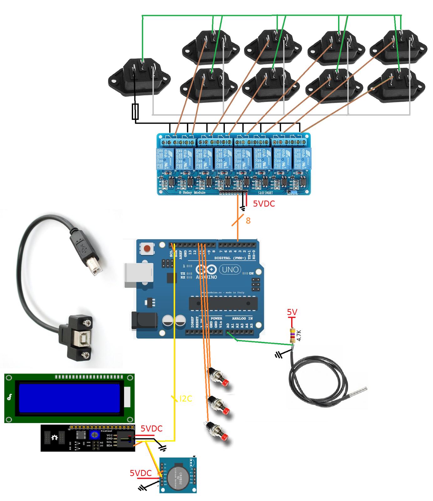 Do Electronics Yourself Relay Electronic Brick