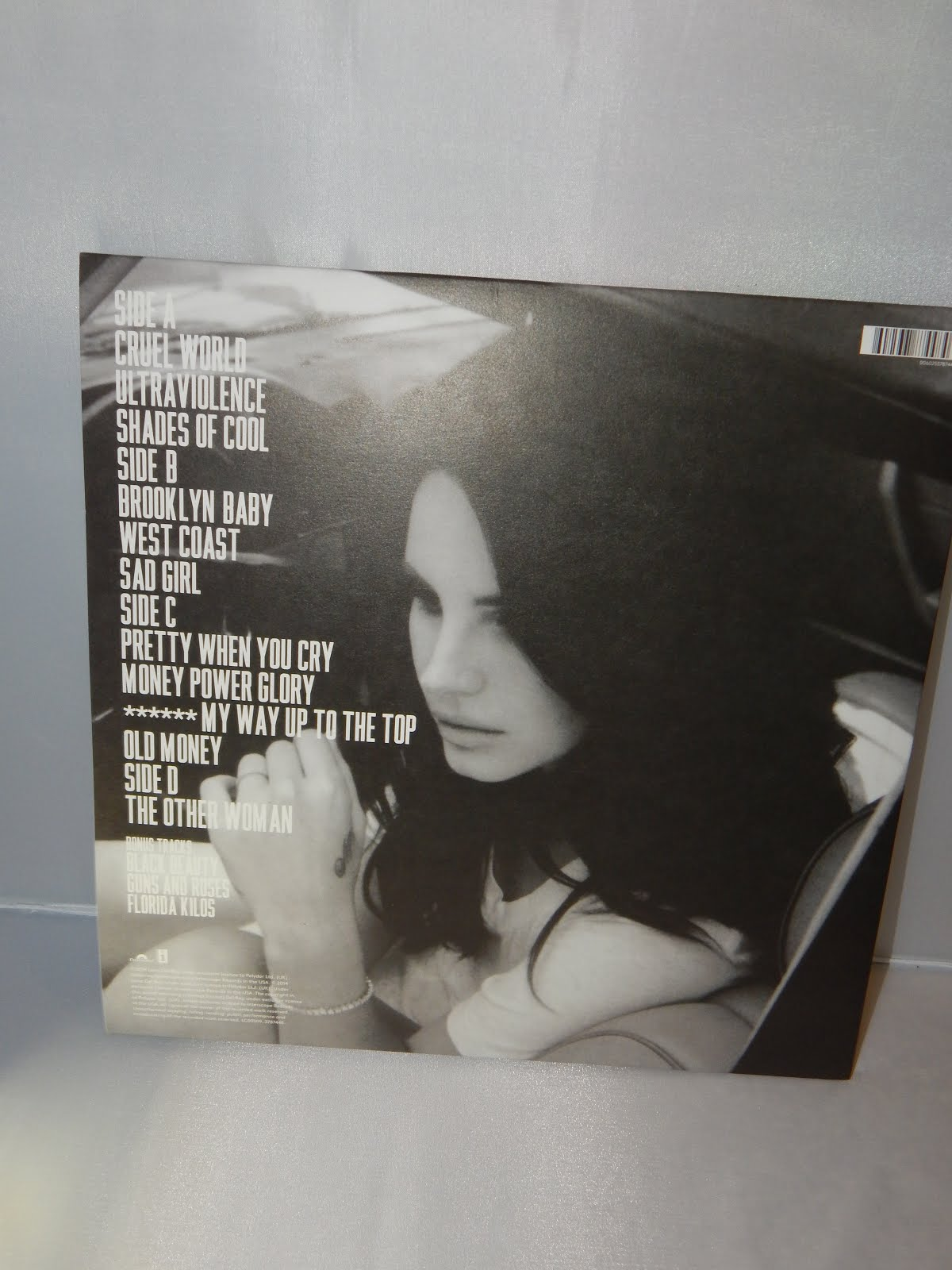 The British Cd Collector Lana Del Rey Ultraviolence Deluxe Edition Vinyl Uk