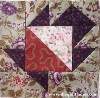 how to make a basket quilt pattern block by the quilt ladies
