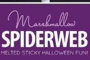 Marshmallow Spiderweb Cake Recpie