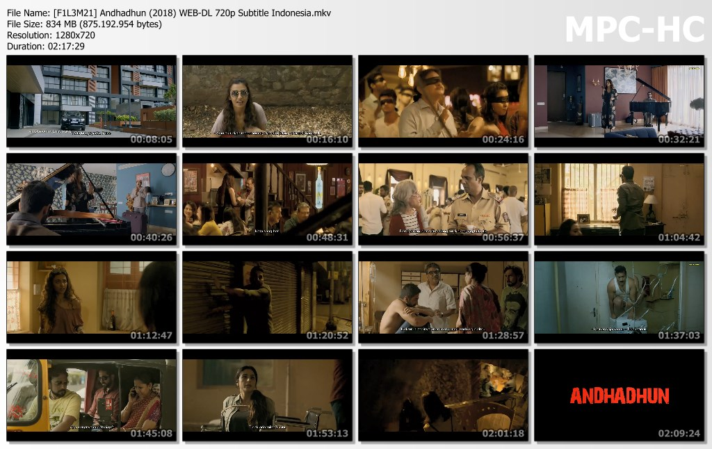 Andhadhun (2018) WEB-DL 720p Subtitle Indonesia - INDOFILEM21