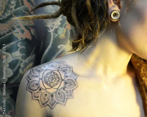 Diva De Brecho Inspiracao Tatuagem De Mandala
