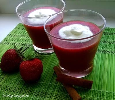 Финский ягодный суп