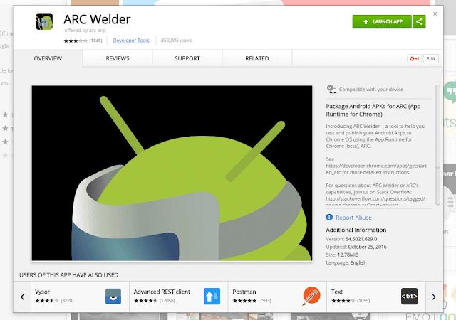 كيفية تشغيل تطبيقات أندرويد على جوجل كروم