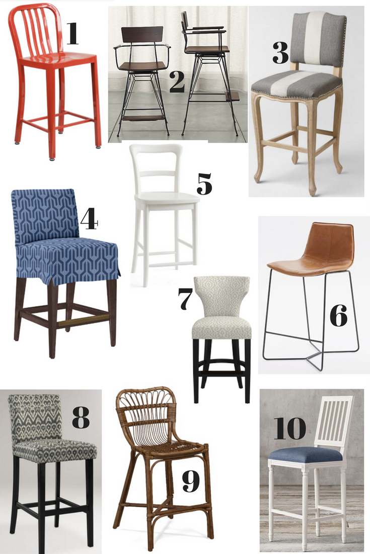 20 Great New Bar Stools To Update Your Look Classic