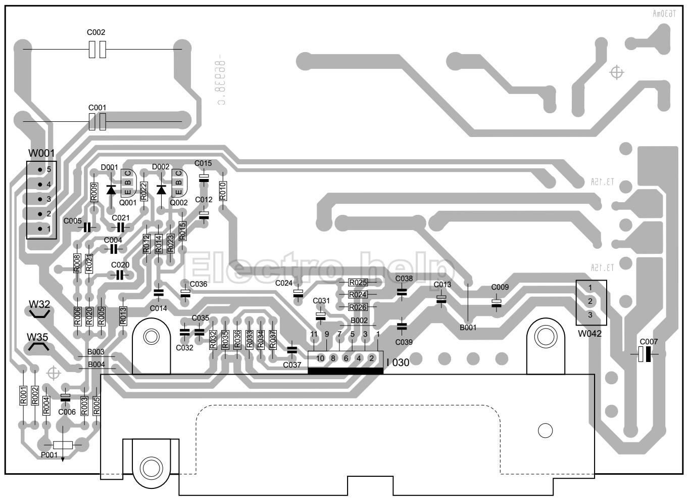 sub woofer circuit diagram 35 watts tda 7265 schematic diagrams
