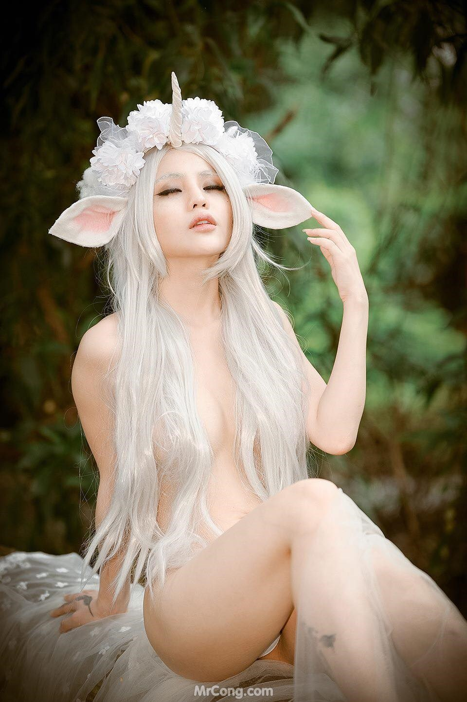 Image Dang-Thi-Trang-Chang-Bong-MrCong.com-001 in post Chang Bông nude táo bạo hóa thân thành tiên nữ (30 ảnh)