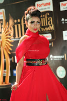 Apoorva in a Stunning Tight Leg Split Sleeveless Red Gown at IIFA Utsavam Awards 48.JPG