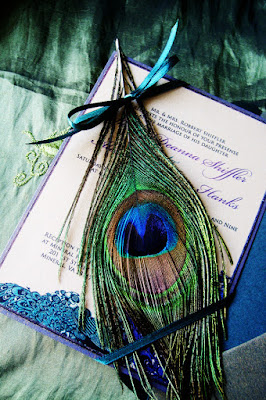 Planning a Peacock Themed Wedding