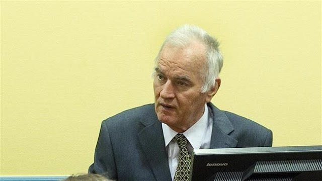 """UN prosecutors call for life sentence for Ratko Mladic commonly known as the """"Butcher of Bosnia"""""""