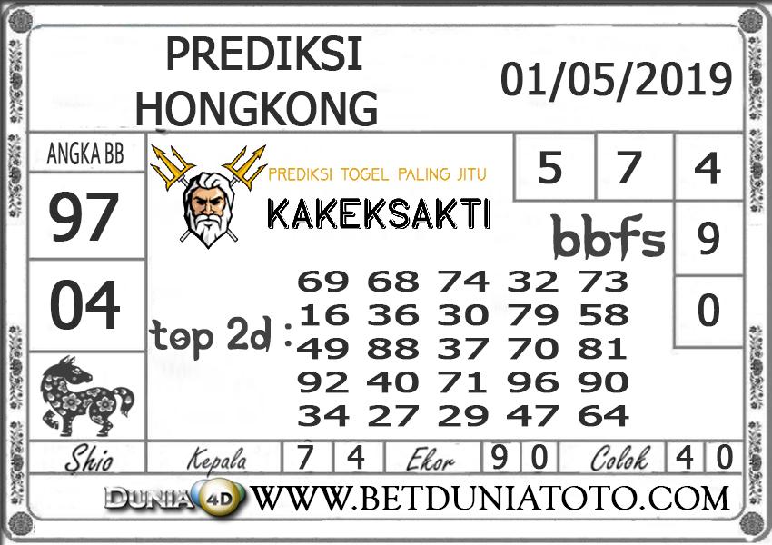 Prediksi Togel HONGKONG DUNIA4D 01 MEI  2019