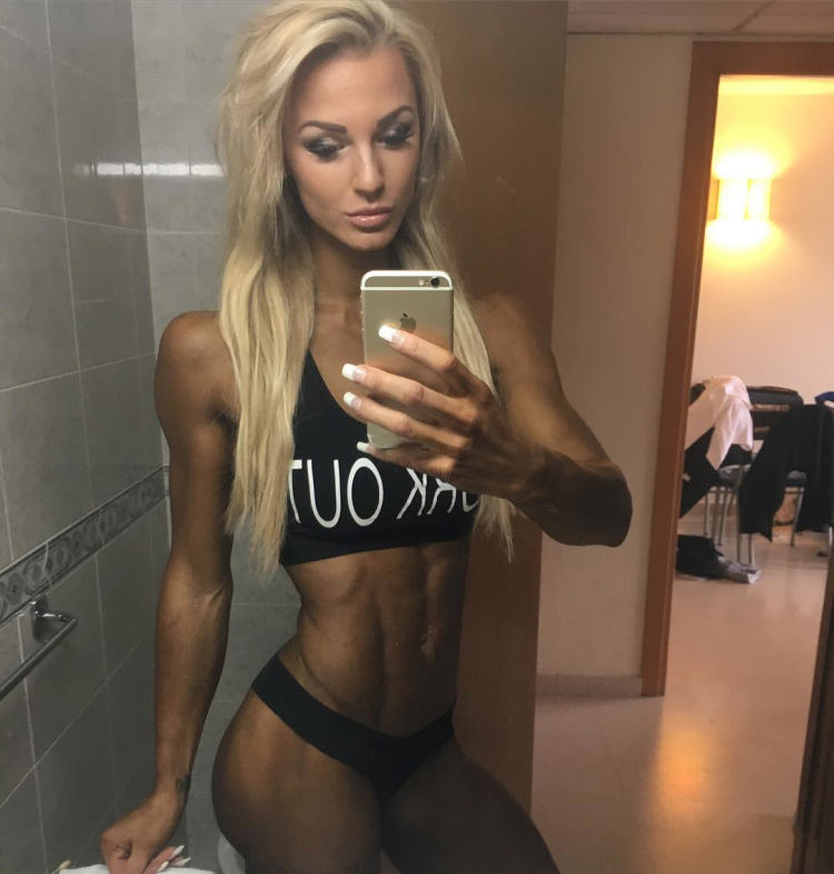 Fitness Model Catharina Wahl 05