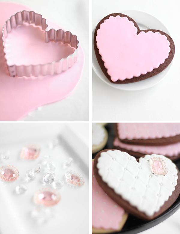 Jeweled Heart Sugar Cookies Sprinkle Bakes