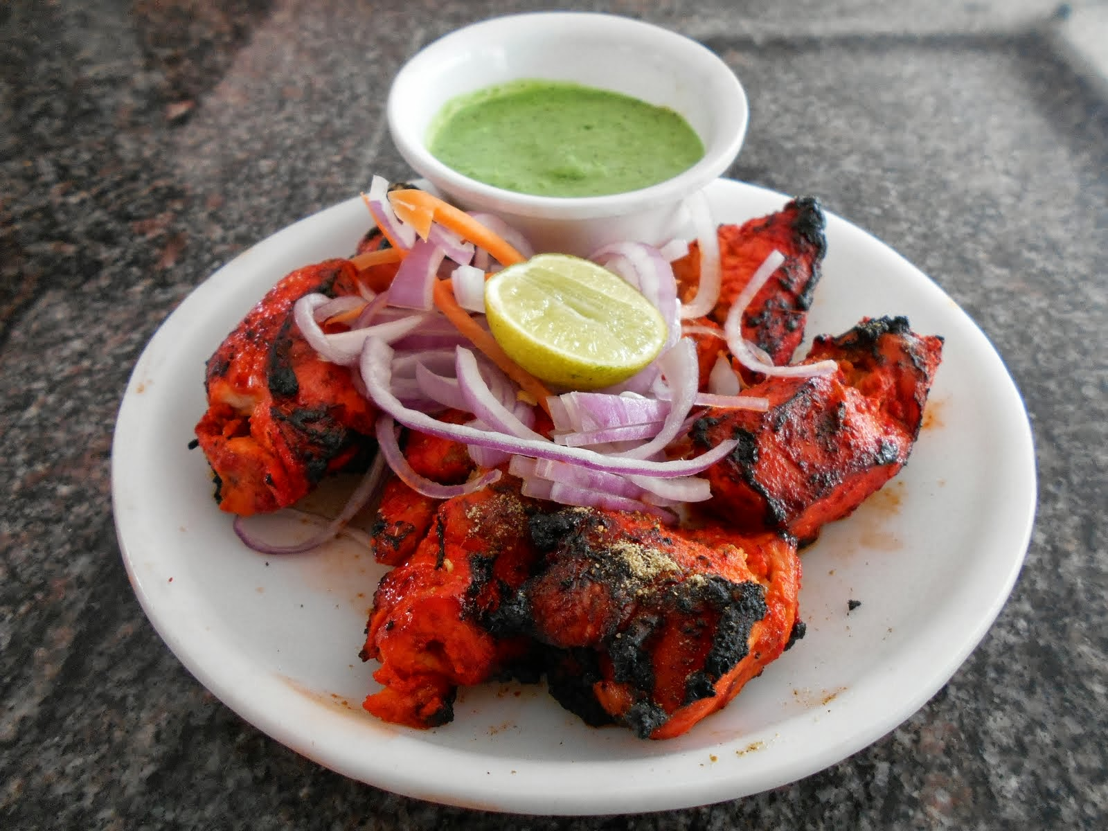 DON'T FORGET THAT PHENOMENAL  INDIAN TANDOORI CHICKEN