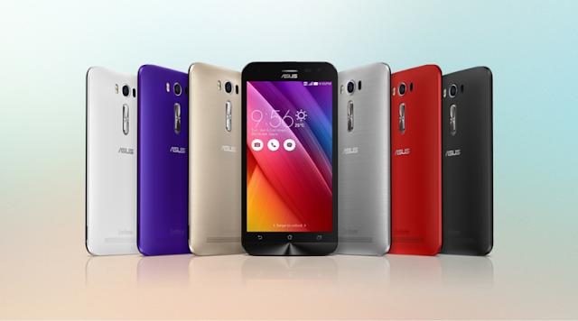 pilihan warna ASUS Zenfone 2 Laser 5.0 ZE500KL