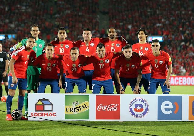 Formación de Chile ante Argentina, Clasificatorias Rusia 2018, 24 de marzo de 2016