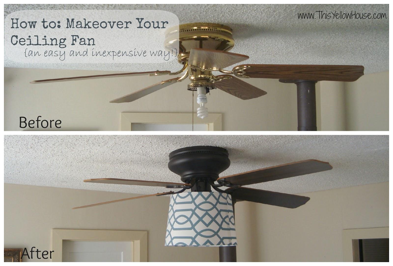 DIY Ceiling Fan Makeover - CafeMom