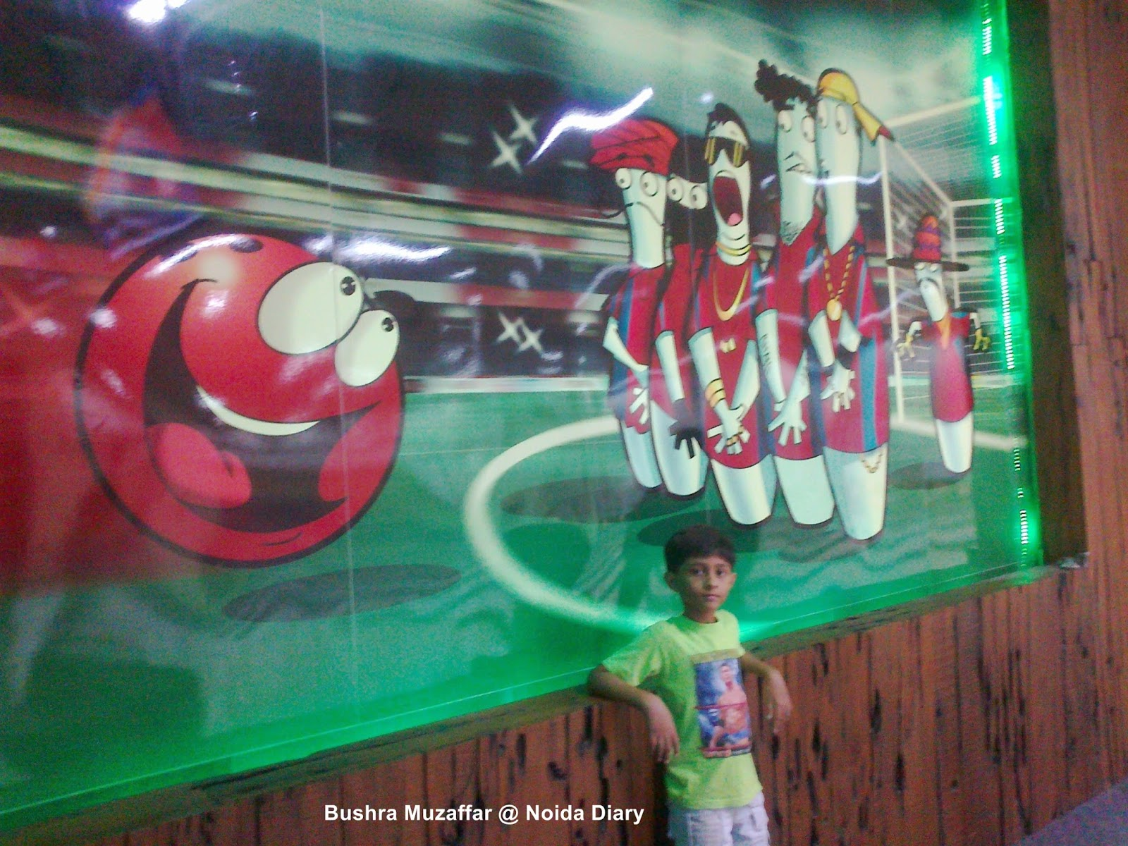 Noida Diary: Bowling Alleys in Noida