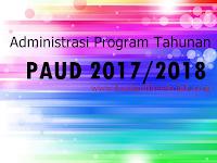 Administrasi Program Tahunan PAUD 2017/2018 - Berkas File Sekolah