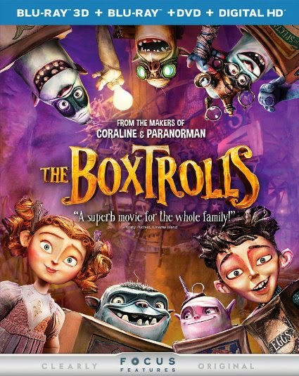 Blu-ray Review - The BoxTrolls