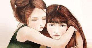 Η αδελφή μας δεν είναι απλώς φίλη είναι το μισό της καρδιάς μας