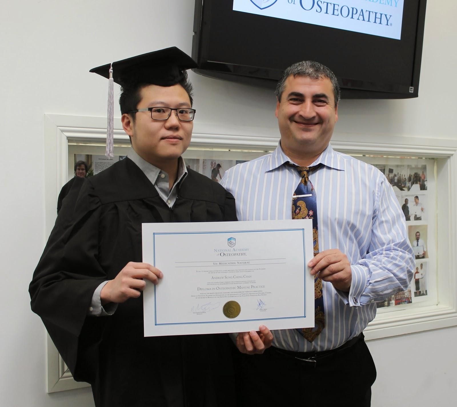 National Academy of Osteopathy (Canada): NAO Graduation Day