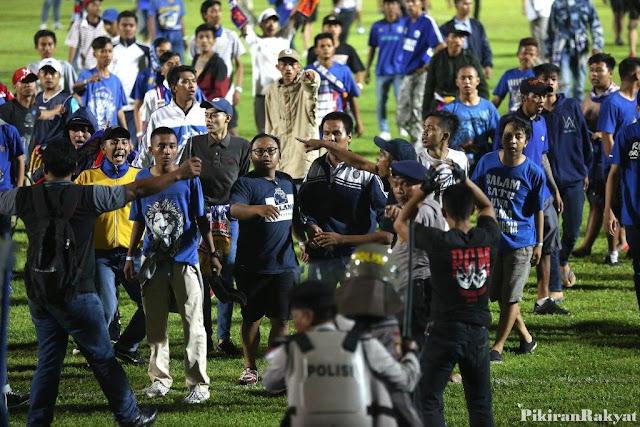 Kapolres Malang Ungkap Kronologi Rusuh Aremania di Laga Arema vs Persib