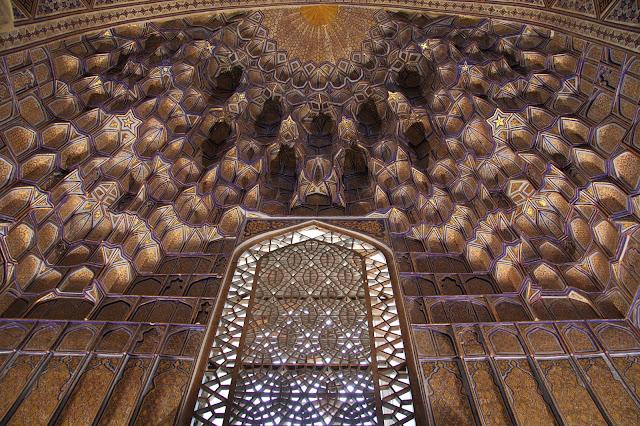 Ouzbékistan, Samarcande, Registan, mihrab, Tilla-Qari, © L. Gigout, 2012