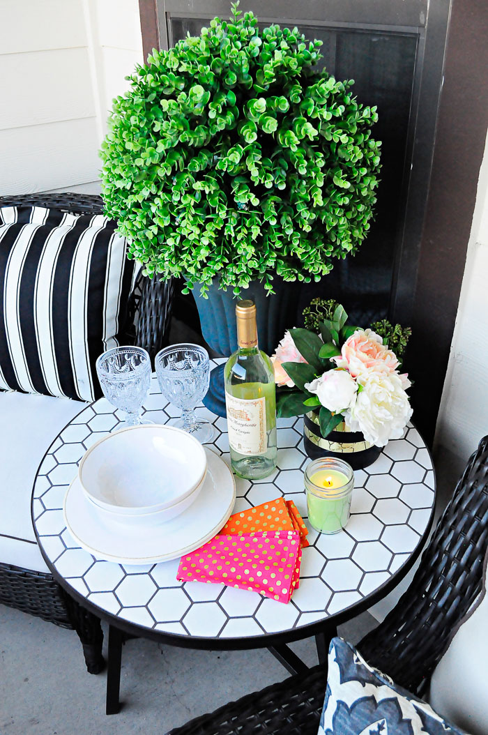 Apartment Patio Outdoor Decor Ideas | Monica Wants It