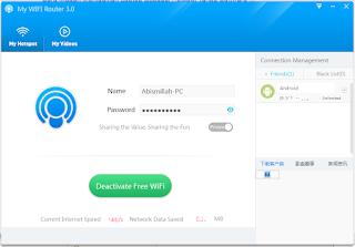 My WIFI Router II Cara Membuat Hotspot Wifi di Laptop Dengan Mudah