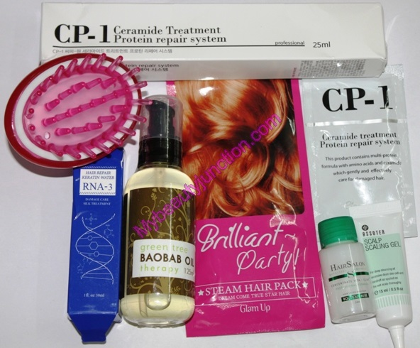 Memebox Hair special beauty box review, unboxing