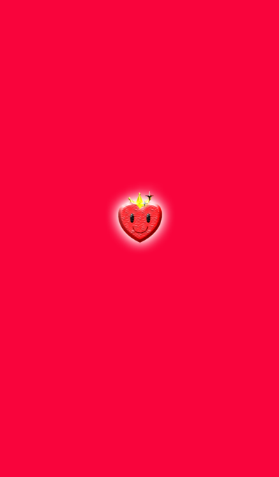Red Simple Heart
