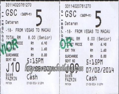 Dari Vegas Ke Macau
