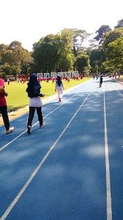 Sempur, taman kota, track jogging