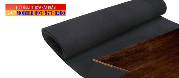 Cao su non lót sàn gỗ dày 2mm