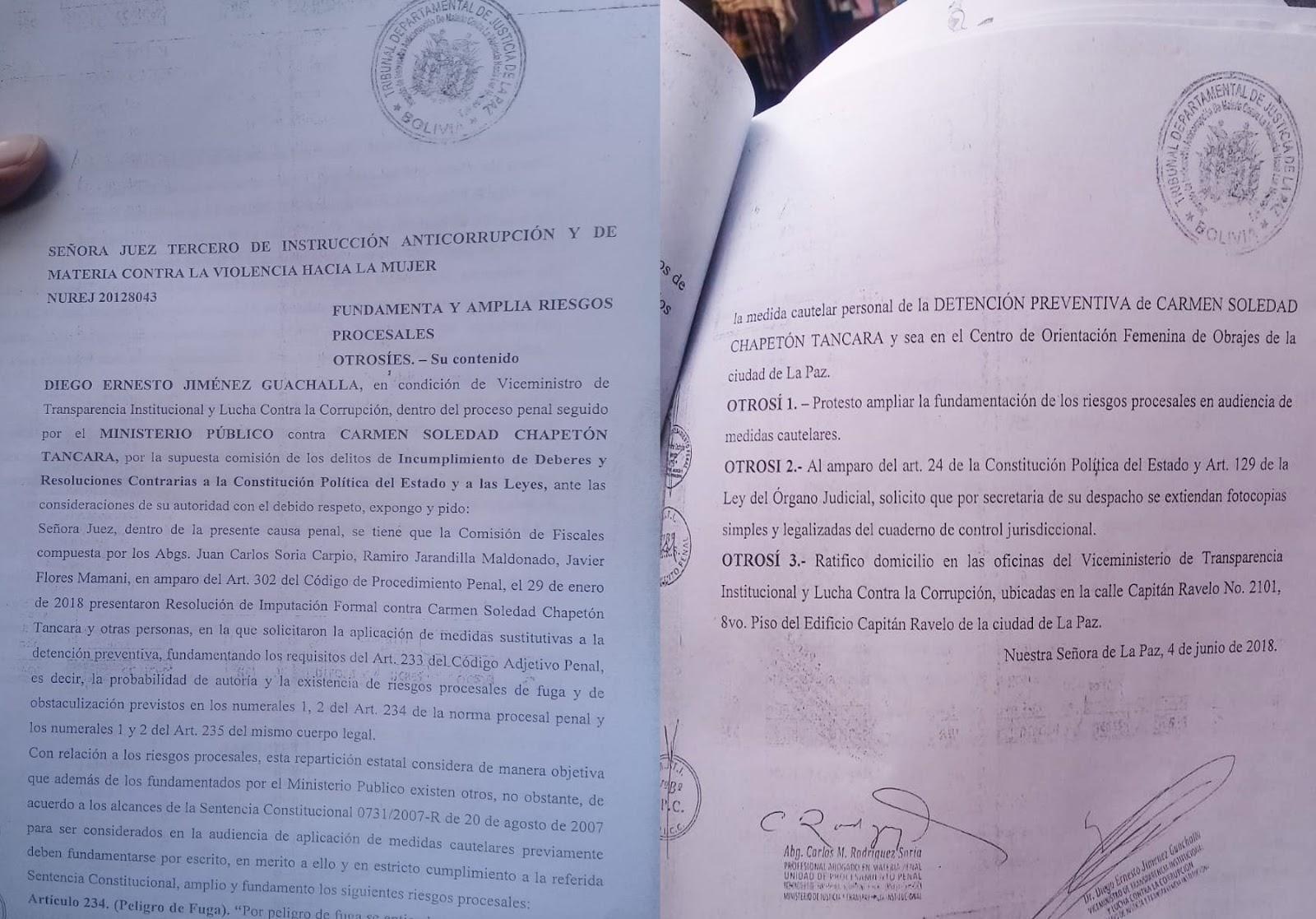 Opositor podría terminar con gestión de alcaldesa alteña /  FACEBOOK RAFAEL QUISPE