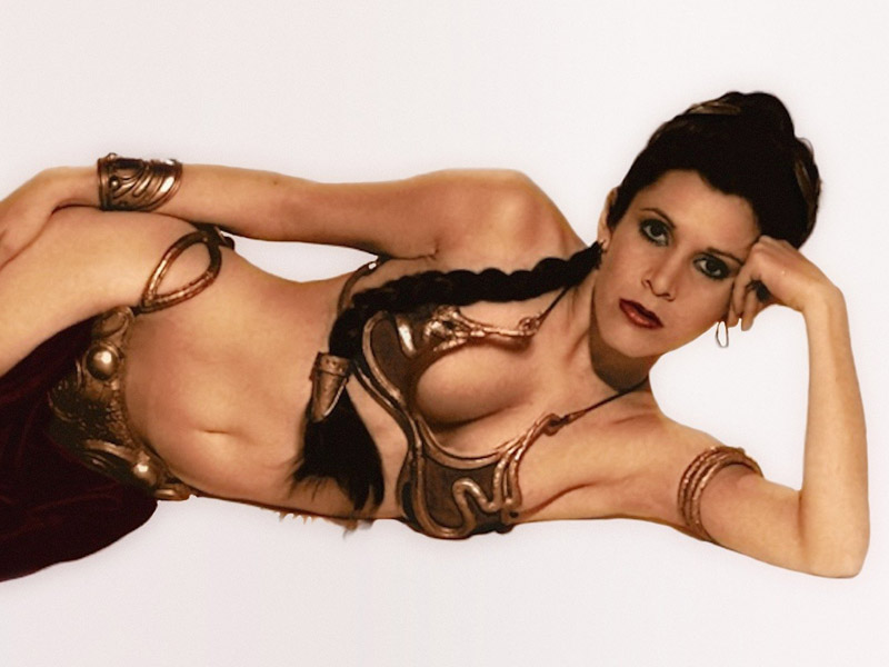 Opinion you Nude women dressed as princes leia sorry