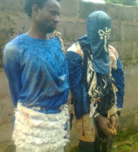armed robbers masquerades enugu