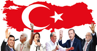 Turkey's Justice and Development Party (AKP) presents its list of candidates to the Supreme Electoral Commission