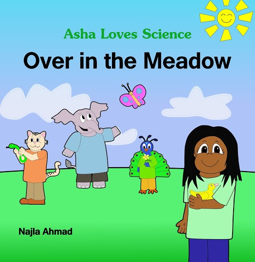 https://www.amazon.com/Over-Meadow-Loves-Science-Along/dp/1517682304/ref=sr_1_1?ie=UTF8&qid=1468262182&sr=8-1&keywords=asha+loves+science