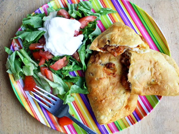 Taco Pockets from Rose Bakes