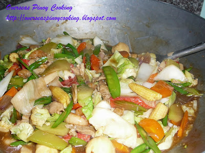 Oriental Chopsuey - Cooking Procedure