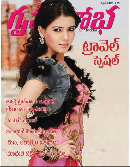 Grihshobha Telugu Magazine Pdf