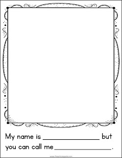 Ally-saurus Free Printable for First Day of School   The Primary Pals