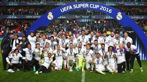 Real Madrid, Campeón de la Supercopa de la UEFA 2016; venció 3-2 en tiempos extras al Sevilla - Ximinia