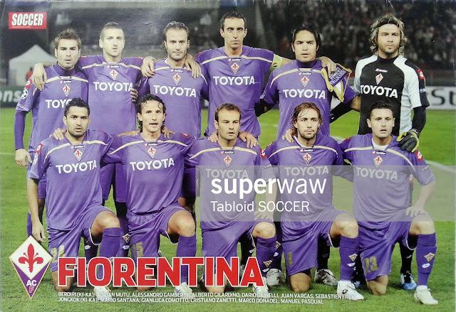 Fiorentina 2009 Team Squad