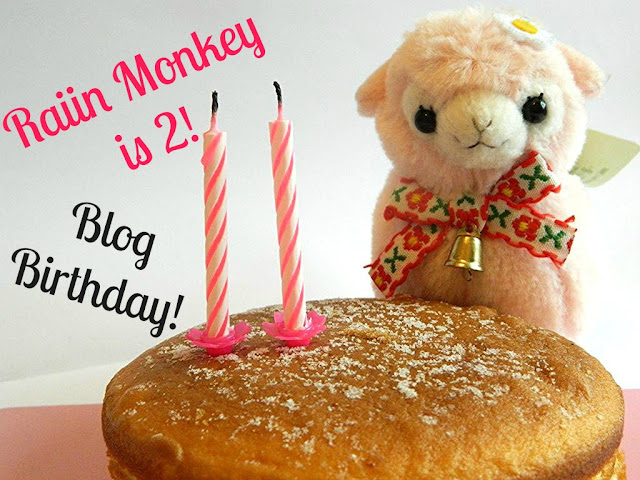 Raiin Monkey 2nd Blogiversary!