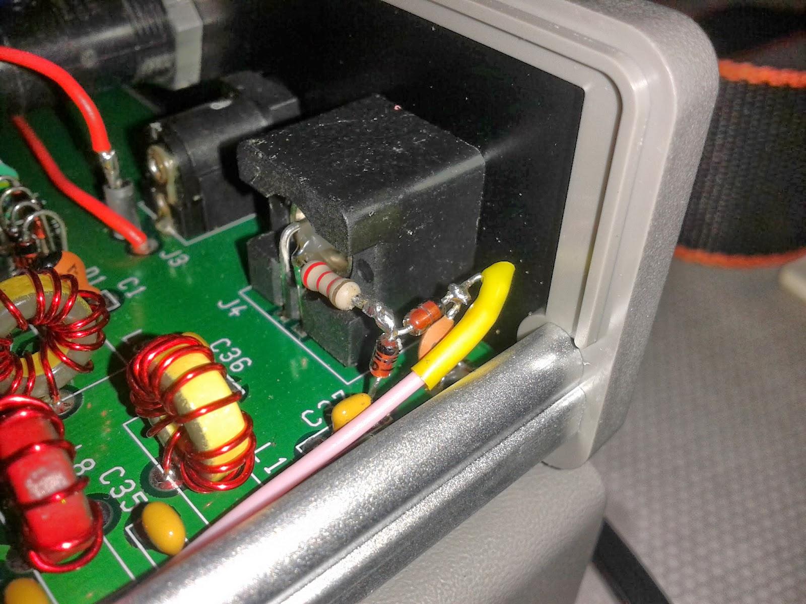 CQ DX DE G7MRV QRP K: PSK-20 working, plus Sudden -2 and a